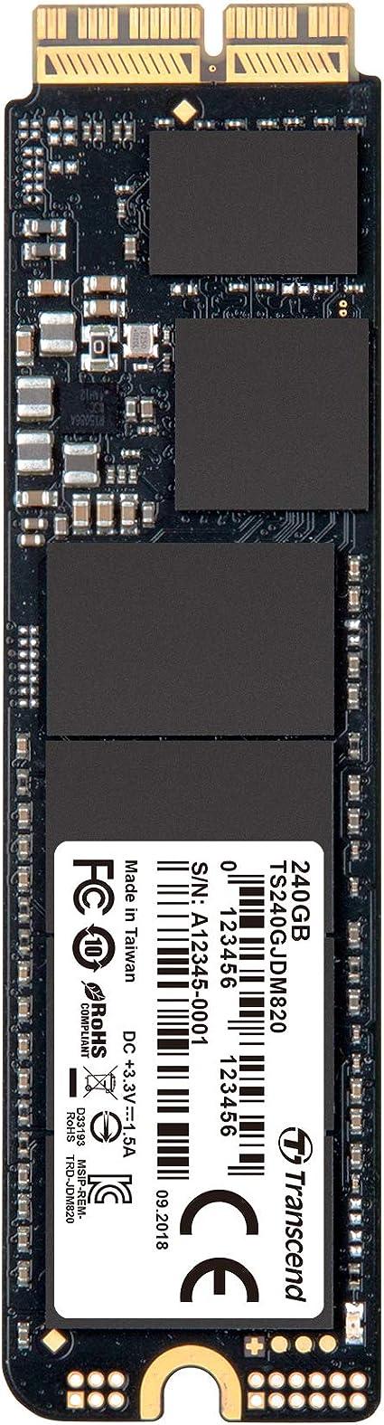 Transcend 480 Gb Jetdrive Jdm 820 Ahci Pcie Gen3 X2 Ssd Computer Zubehör