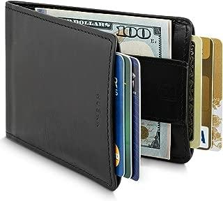 Men Wallet - RFID Minimalist Slim Front Pocket Card Travel Holder Clip CSBW