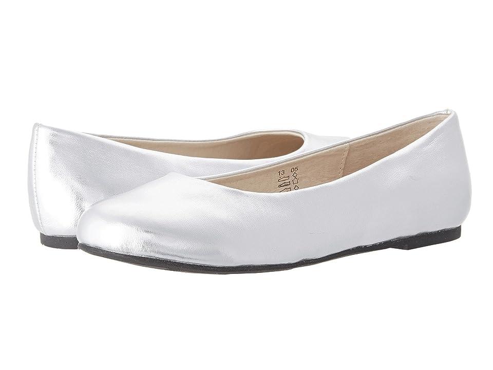 Pazitos AA BF PU (Toddler/Little Kid/Big Kid) (Silver Metallic) Girls Shoes