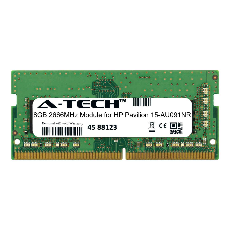 A-Tech 8GB Module for HP Pavilion 15-AU091NR Laptop & Notebook Compatible DDR4 2666Mhz Memory Ram (ATMS308389A25978X1)
