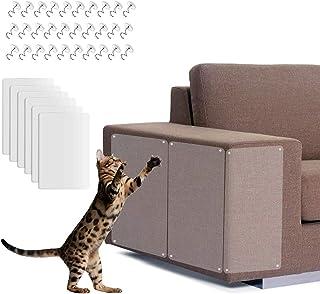 WELLXUNK Protector de Muebles Gatos,6PCS Protector Sofa Gatos,Protector de Muebles para Gatos,Arañazos de Gato Protector c...