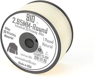 Aleph Objects Inc. Taulman Filament, Alloy 910 Nylon, 3 mm, 0.5kg. Reel, Natural