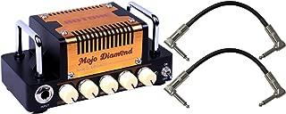 Hotone Nano Legacy Mojo Diamond (Fender Tweed) Mini Amp Head w/ 2 Patch Cables
