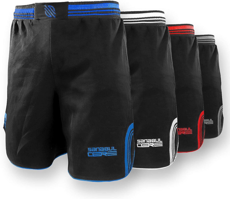 High material Sanabul Max 51% OFF CORE MMA BJJ Shorts Training Cross Workout