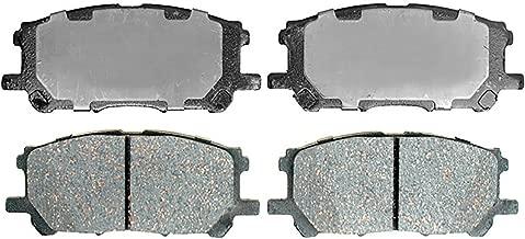 ACDelco 14D1005CH Advantage Ceramic Front Disc Brake Pad Set