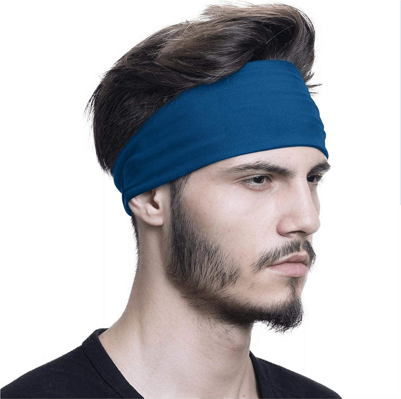 Dark Light Blue Sports Hiking U.s-Mail-Black-Logo-Face Cover Balaclava Headwear Sweatband Men Women