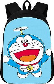 CJIUDI Negro Mochilas/Backpack/Mochila Versátil/Bandolera/Bolso De Los Viajes/Multiusos Daypacks/Doraemon - B,para Adolescente/Chica/Muchacho/Infantil