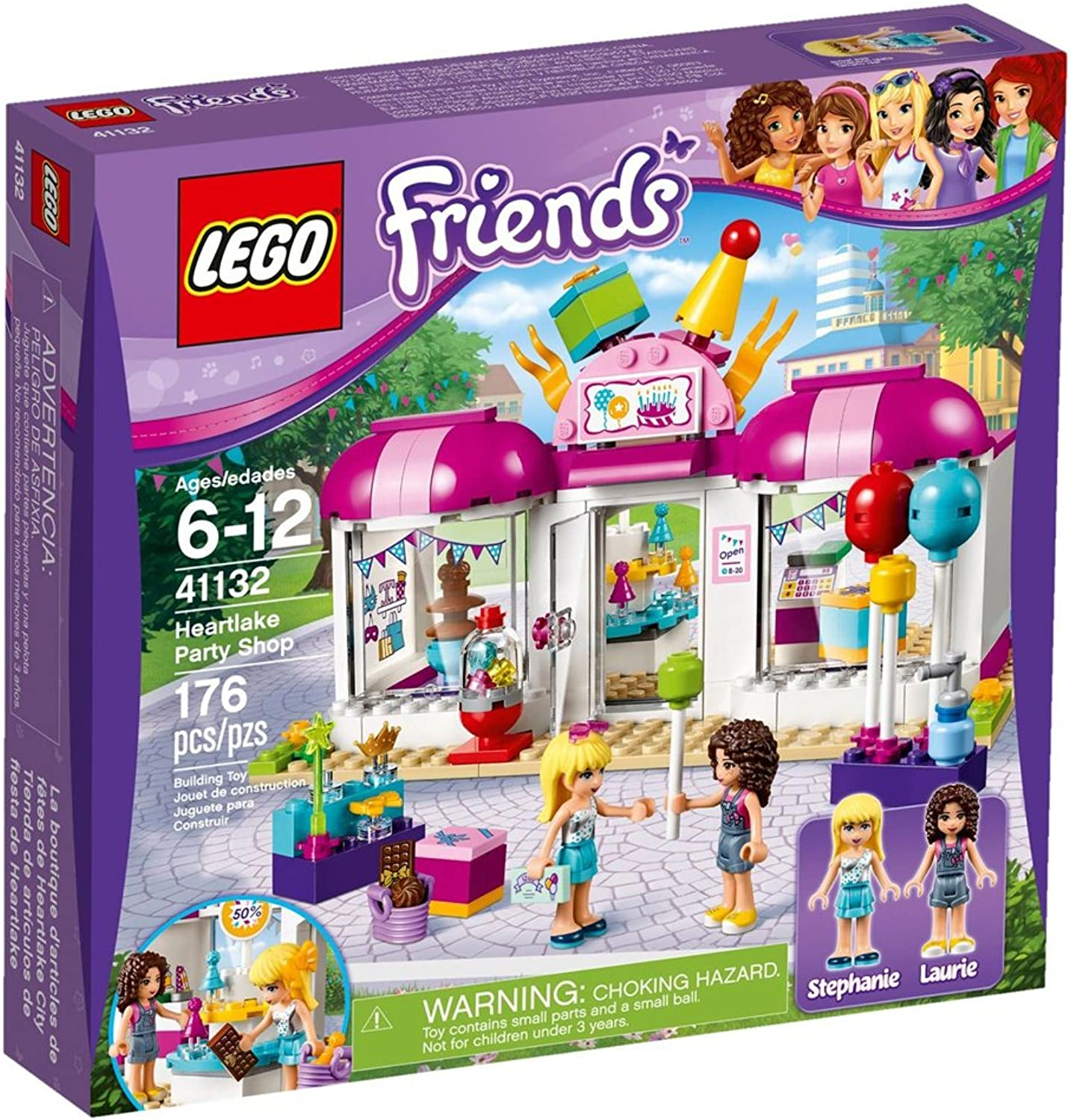 LEGO 41132 Freinds Heartlake party shop by LEGO