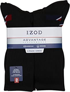 Men's Athletic Crew Socks (5 Pack)