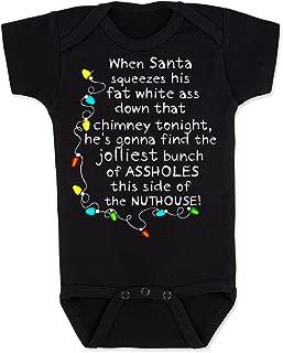 Vulgar Baby Bodysuit, Christmas Vacation Nuthouse