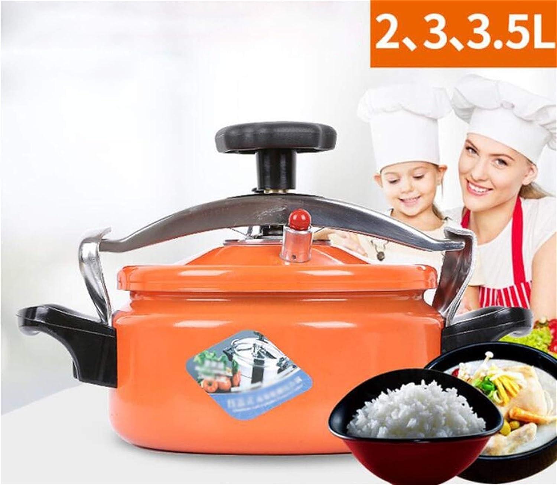 Cuisini/ère /à pression alliage daluminium m/énager mini cuisini/ère /à pression ext/érieure Cuisini/ère de camping en plein air Petite mini-soupe Pot de soupe adapt/é /à lhotel commercial cuisini/&eg