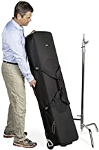 Think Tank Photo Stand Manager 52 Professional Photography & Video Lighting Equipment Roller Bag for Light Stand Bag, Carr...