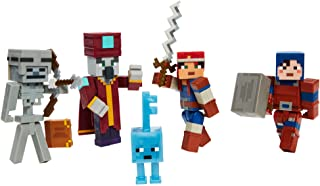 "Minecraft Dungeons 3.25"" Desert Temple Battle Pack with Mini Figures, Suits of Armor and Weapons, Multi (GRN35)"