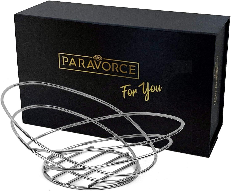 Paravorce Borboleta Fruit Basket 超人気 Ripenin Bowl Even 公式ストア Wire