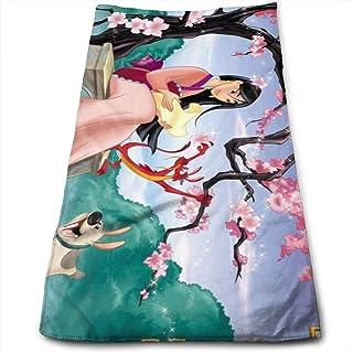 GYYbling Toalla Hua Mulan Toalla 100% algodón de Lujo Toallas de baño Suaves, Gruesas, de Calidad, Toallas para baño, Hote...