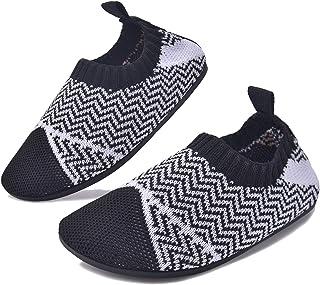 BAOLESEM Chaussons Bébé Enfant Garçons Fille Pantoufle antidérapante Garcon Slipper Chaussettes Chaussures Mixte Enfant