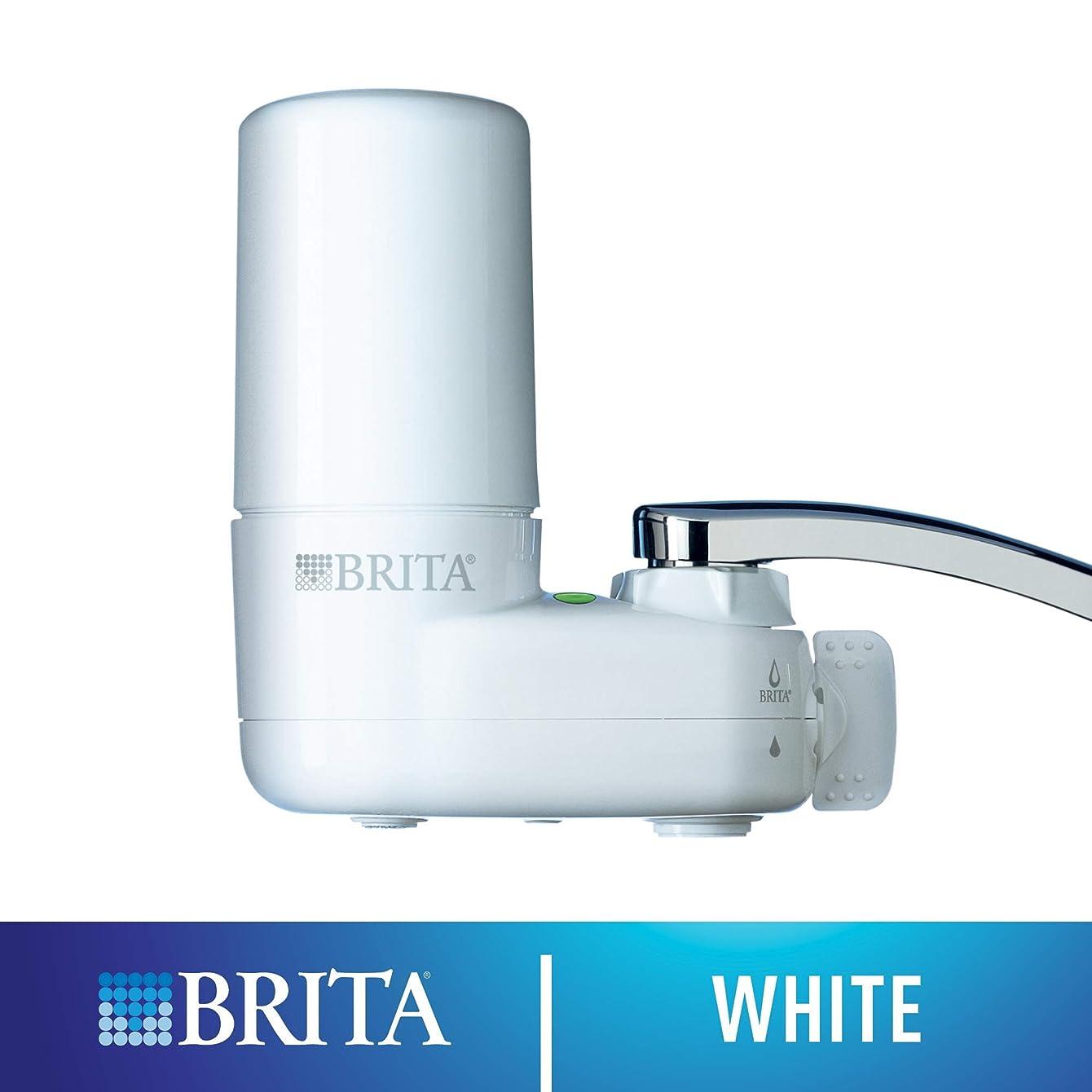 Brita Basic On Tap Faucet Water Filter System (Renewed)