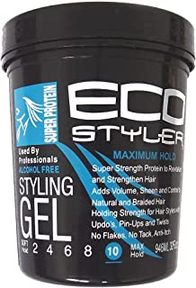 natural hair and eco styler gel