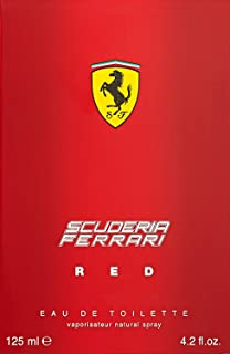 Ferrari Scuderia Red Eau De Toilette Spray, 4.2 Fluid Ounce