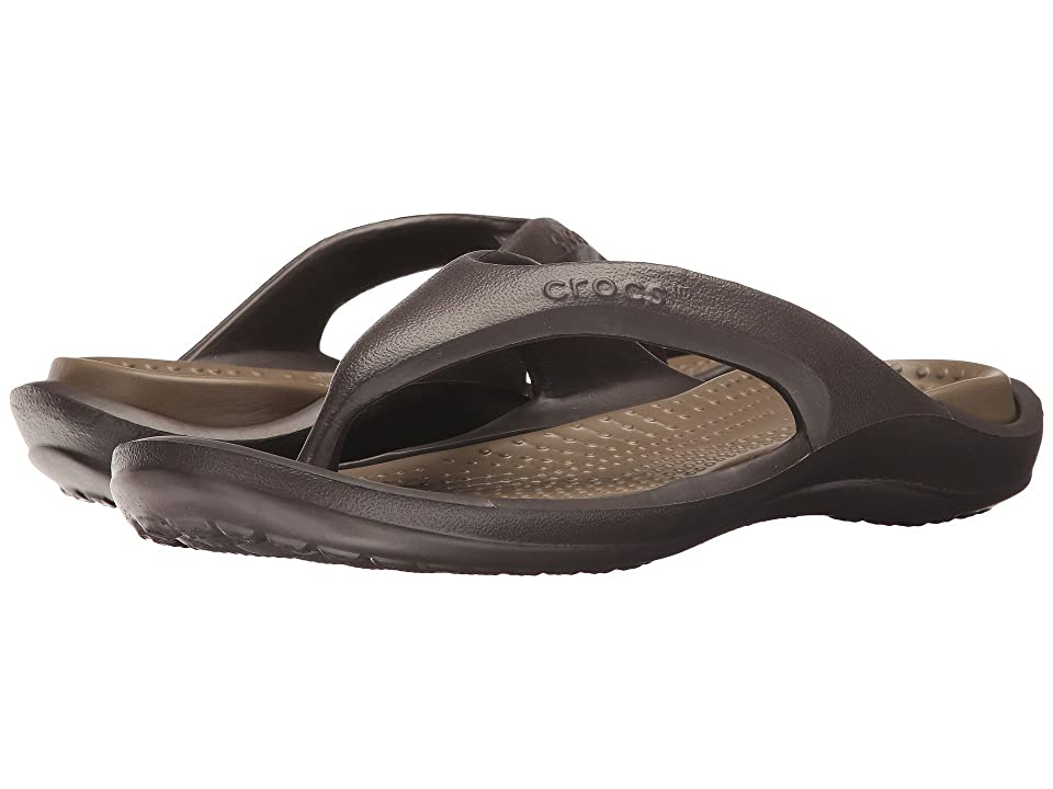 Crocs Athens (Espresso/Walnut) Sandals