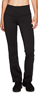 Active Women's Fleece Lined Flared Bottom Athletic Stretch Boot Cut Yoga Pants