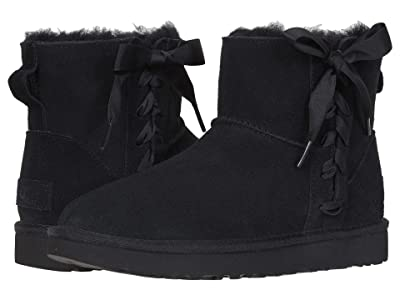UGG Classic Lace Mini (Black) Women