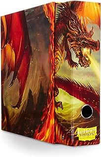 Slipcase Binder: Dragon Shield 9 Pocket Dragon Art Red