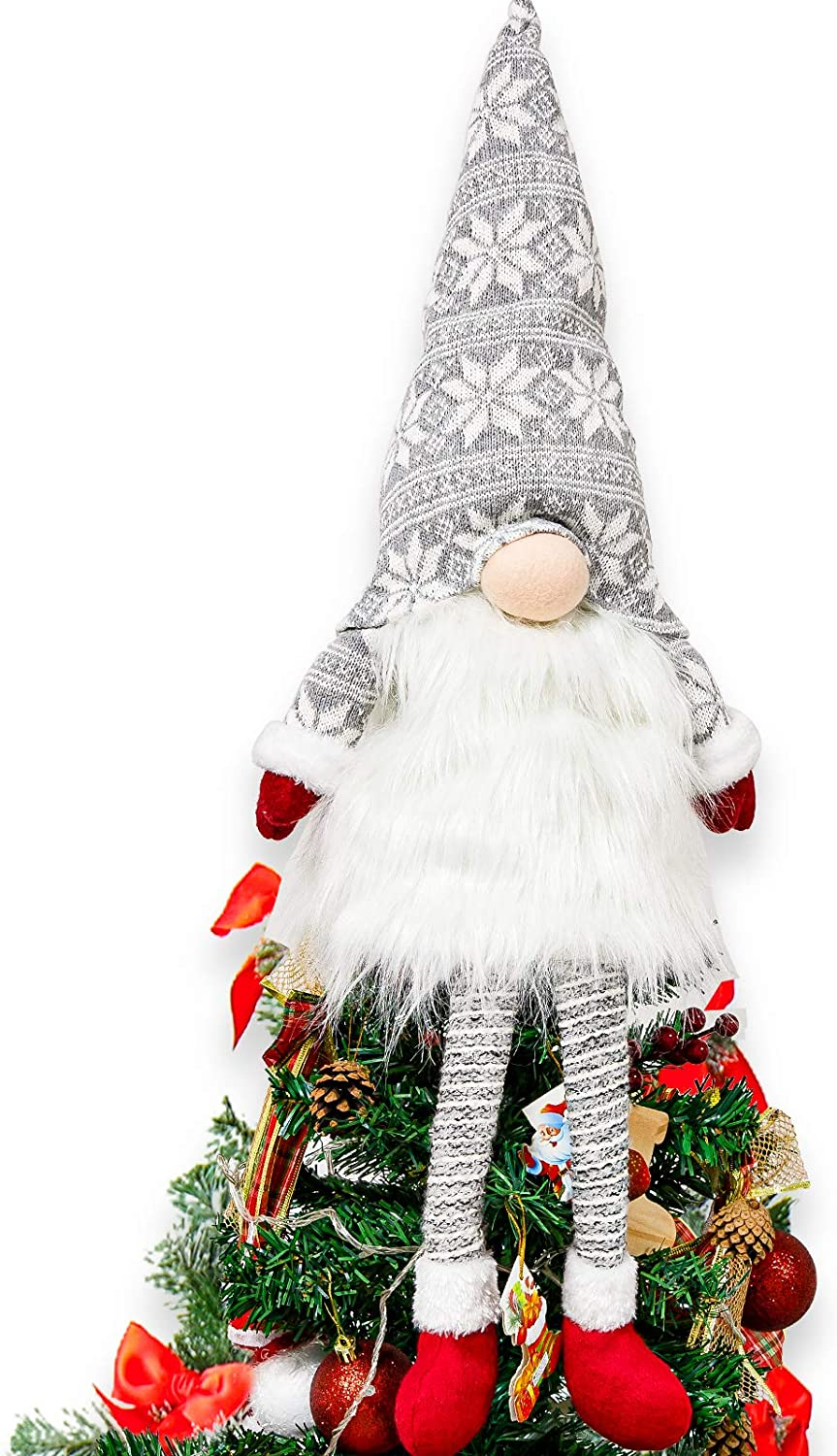 Whaline Christmas Tree Topper Large Santa Outlet SALE Max 49% OFF Tomte Swedish Or Gnome