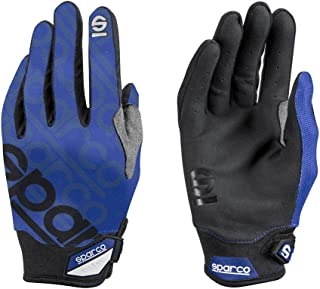 Sparco Meca 3 Mechanics Glove 002093 (Size: Small, Blue)