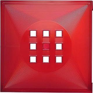 DEKAFORM Puerta para fuente Biombo, Flexi–Estantería con Uso IKEA Estantería Expedit + Kallax con nörnäs, XXXL * Rojo