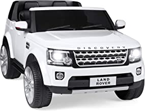 Best Choice Products 12V 3.7 MPH 2-Seater Licensed Land Rover Ride On Car Toy w/ Parent..
