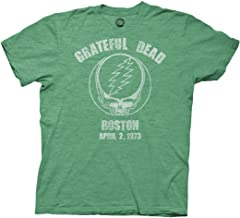 Ripple Junction Grateful Dead Boston 73 Adult T-Shirt