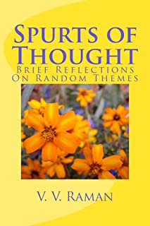 Spurts of Thought - Volume 1 (English Edition)