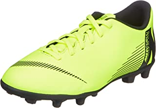 Nike Unisex's Jr Vapor 12 Club Gs Fg/Mg Football Shoes