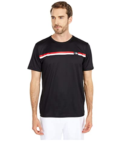 The North Face Americana Reaxion Short Sleeve Graphic Tee (TNF Black) Men