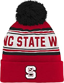 NCAA North Carolina State Wolfpack Toddler Outerstuff Jacquard Cuffed Knit Hat with Pom, Team Color , Toddler
