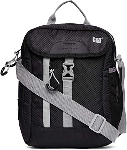 CAT Urbanmountaineer Polyester 21 Cms Black Messenger Bag 83367 01