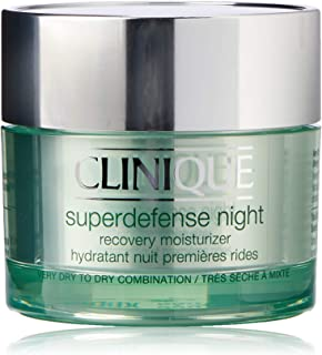 Clinique Superdefense Night Recovery Moisturizer for Unisex, 1.7 oz