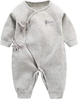 ALLAIBB Unisex Newborn Baby Boys Girls Outfit Cotton Butterfly Janpanese Kimono Romper