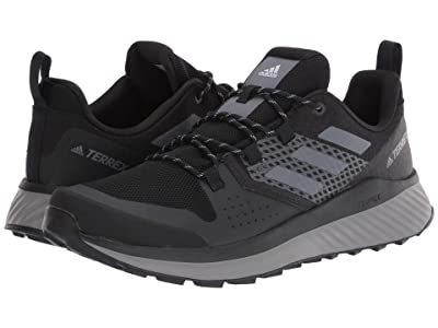adidas Outdoor Terrex Folgian Hiker (Black/Grey Three/Grey One) Men