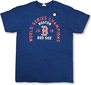 Boston Red Sox 2018 World Series Champions Men's Adult Roster T-Shirt