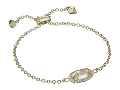 Kendra Scott Elaina Birthstone Bracelet (April/Gold/Clear Crystal Glass) Bracelet