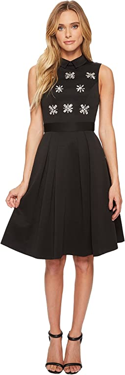 Ted Baker Saski Embellished Collared Dress