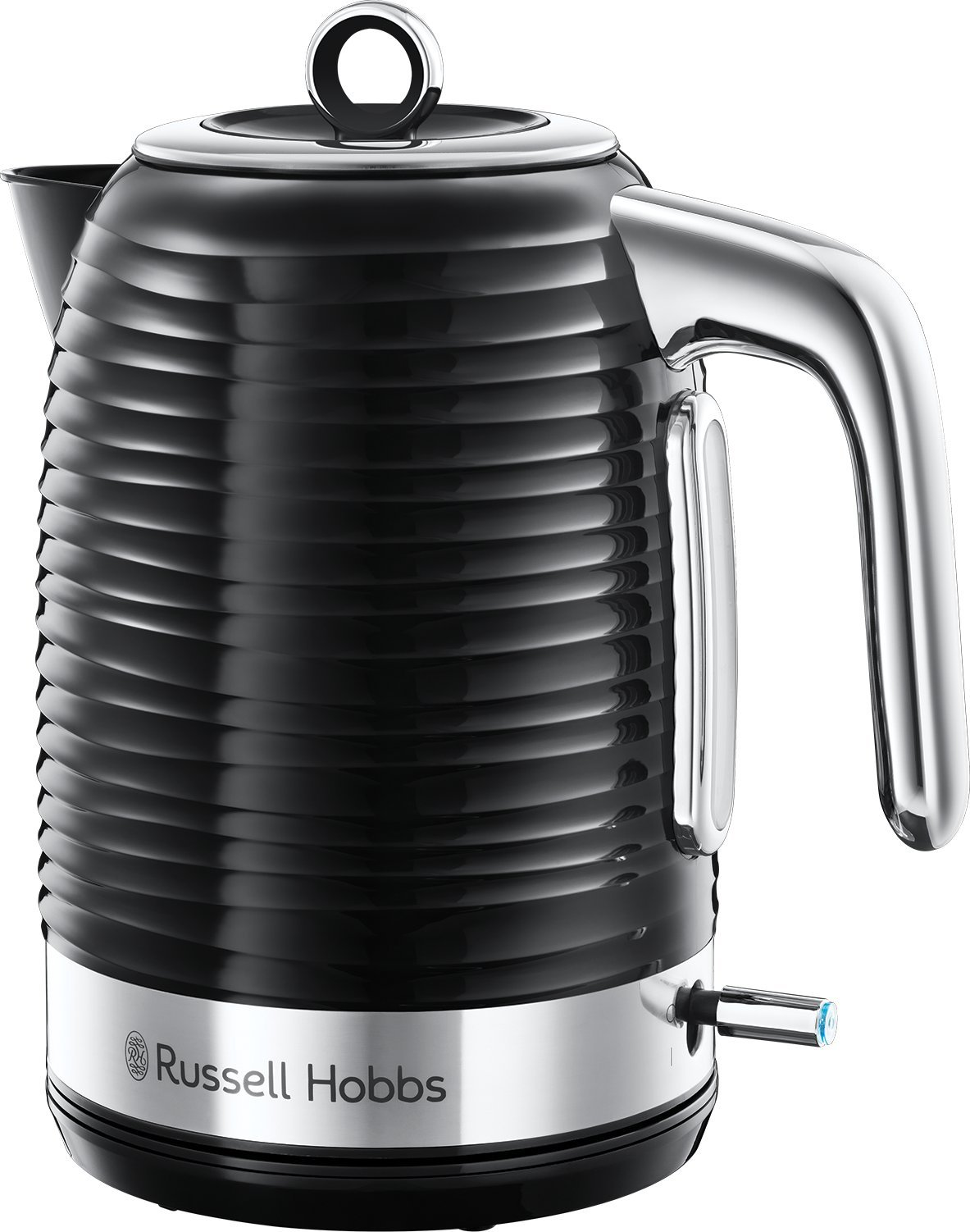 Black Russell Hobbs 24361 Inspire Kettle Limescale Filter Rapid Boil 1.7L 3kW