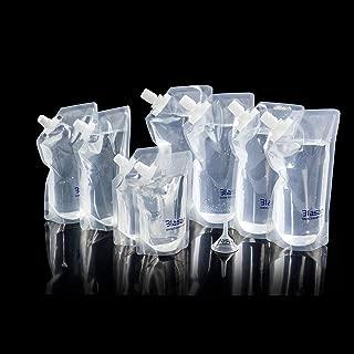 BLASANI Concealable Cruise Ship Rum Sneak Flask Kit Set (4 X 32 oz, 2 X 16 oz, 2 X 8 oz)