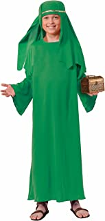 Forum Novelties Biblical Times Shepherd Green Costume Robe, Child Large