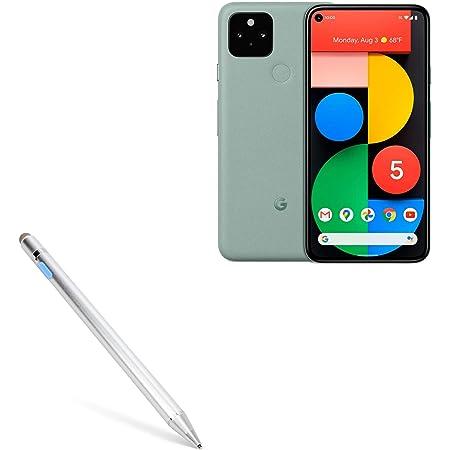 Google Pixel XL Stylus Pen AccuPoint Active Stylus Electronic Stylus with Ultra Fine Tip for Google Pixel XL BoxWave Metallic Silver
