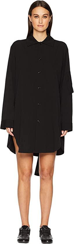 U-B Drape Shirt Dress