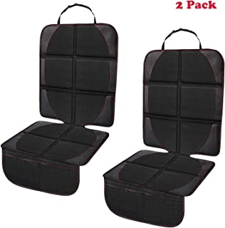Car Seat Protector, 2 Pack Car Seat Protectors for Child Baby Car Seat with Organizer..