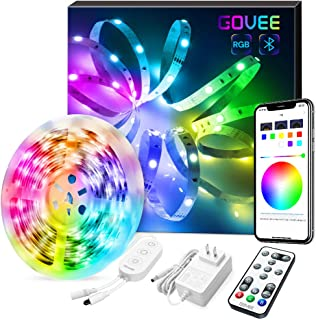 LED Strip Lights, Govee Color Changing 16.4FT Bluetooth...
